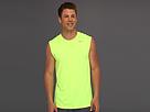 Nike Dri-FIT Legend Sleeveless Training Shirt (Volt/Dark Grey Heather/Matte Silver) Men's Sleeveless