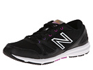 New Balance WX577 Black, Purple Shoes
