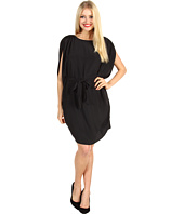 Suzi Chin for Maggy Boutique - Batwing Belted Dress