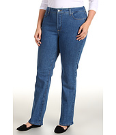 NYDJ Plus Size - Plus Size Marilyn Straight in Monrovia Wash