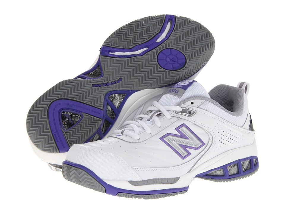 New Balance WC806 (White) Women's Tennis Shoes