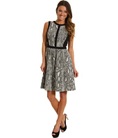 Rebecca Taylor - Python Fit & Flare Dress