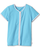 Seafolly Kids - Tropica Crush Zip Front Rashie (Little Kids/Big Kids)