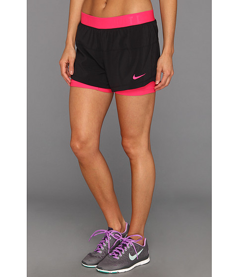 d0dc43d16a46 Cheap Nike Icon Woven 2 In 1 Woven Short Black Pink Force Pink Force Pink  Force