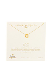 Dogeared Jewels - Bridal Love Knot Necklace