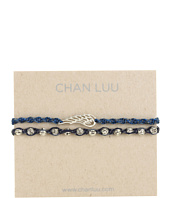 Chan Luu - 2 Pack Friendship Bead Bracelet Blue Mix