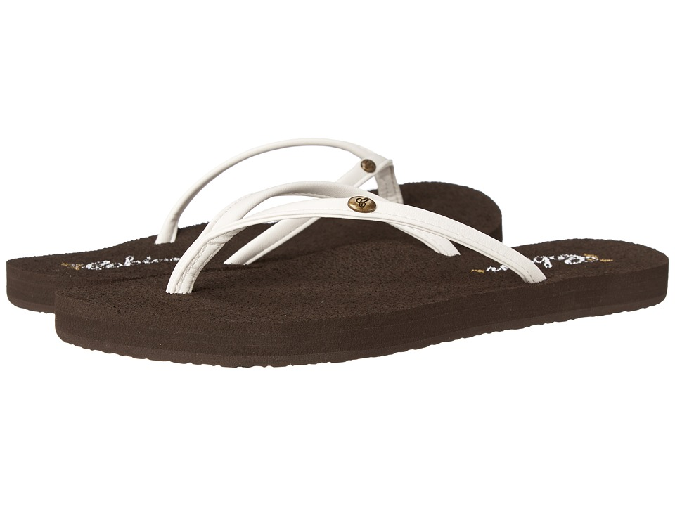 Cobian Nias Bounce White Womens Sandals