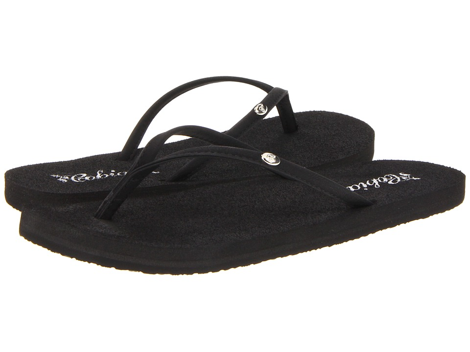Cobian - Nias Bounce (Black) Women's Sandals