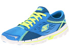 SKECHERS - GOrun 2 (Blue/Yellow) - Footwear