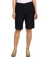 NYDJ Plus Size - Plus Size Teresa Walking Short in Dark Enzyme