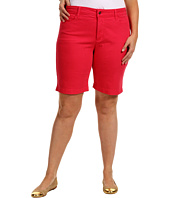 NYDJ Plus Size - Plus Size Helen Short Colored Denim