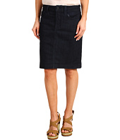 NYDJ Petite - Petite Rebecca Denim Skirt in Dark Enzyme
