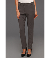 Halston Heritage - Skinny Pant with Contrast Tuxedo Stripe