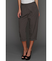 Halston Heritage - Relaxed Fit Cropped Pant