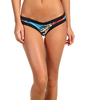 Rachel Pally - Printed Limon Color Block Bikini Bottom