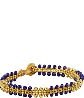Dogeared Jewels - Chain Parallel Bead Bracelet