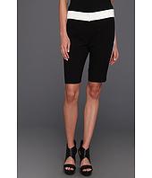 Halston Heritage - Colorblock Bermuda Shorts