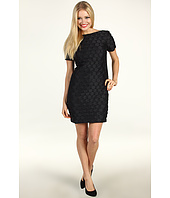 Muse - Short Sleeve Embellished Circles Dress
