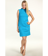 Muse - Ponte Shift Dress With Two Front Pockets