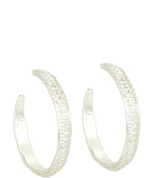 Dogeared Jewels - Medium Textured Earrings - Antique