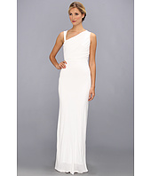 ABS Allen Schwartz - Gathered Bodice Sleeveless Gown