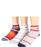 Nike Kids - Youth Boys' Graphic Cotton Cushion Quarter 3-Pair Pack