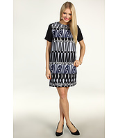 Donna Morgan - Monica Sheath w/Combo Sleeve Dress