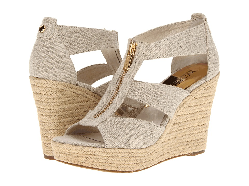 Michael Kors Damita Wedge (Natural Hemp) Women's Wedge Shoes