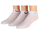 Nike Kids Lightweight Cotton Cushion Moisture Management Low Cut 3-Pair Pack