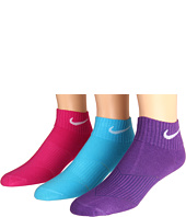 Nike Kids - Lightweight Cotton Cushion Moisture Management Quarter 3-Pair Pack (Toddler/Little Kid/Big Kid)