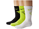 Nike Kids Graphic Cotton Cushion Crew 3-Pair Pack