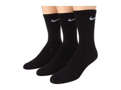 Nike Kids Cotton Cushion Moisture Management Crew Sock 3-Pair Pack (Little Kid/Big Kid)