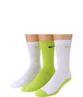 Nike Kids - Cotton Cushion Moisture Management Crew Sock 3-Pair Pack (Little Kid/Big Kid)