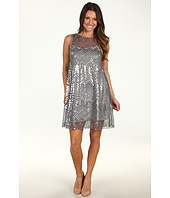 Muse - Sequin Mesh Swing Dress