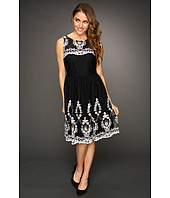 Muse - Floral Embroidered Girlie Dress