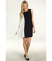 Donna Morgan - Sheath w/Combo Side Drape Dress