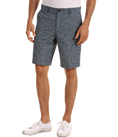 Ben Sherman - Floral Printed Chambray Short
