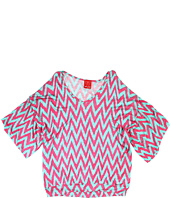 Ella Moss Girl - Mazzy Flutter Sleeve Top (Big Kids)
