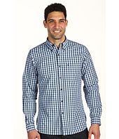 Stetson - Mini Ombre Check/Solid Plaid L/S Shirt