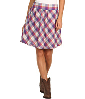 Stetson - Orchid Dobby Plaid Skirt