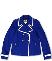 Juicy Couture Kids - Cotton Tricotine Peacoat (Toddler/Little Kids/Big Kids)