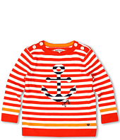 Juicy Couture Kids - Striped Anchors L/S Sailor Pullover Sweater (Toddler/Little Kids/Big Kids)