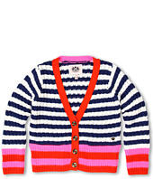 Juicy Couture Kids - Colorblocked Stripes Cardigan (Toddler/Little Kids/Big Kids)