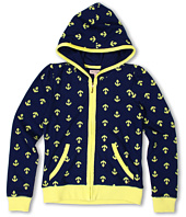 Juicy Couture Kids - Jacquard Anchor L/S Hoodie (Toddler/Little Kids/Big Kids)