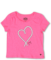 Juicy Couture Kids - Rope Heart S/S Graphic Tee (Toddler/Little Kids/Big Kids)