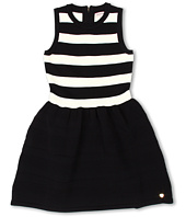 Juicy Couture Kids - Stripes and Pleats Dress (Toddler/Little Kids/Big Kids)
