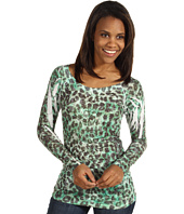 Roper - Paisley Burnout w/Leopard Sublimation
