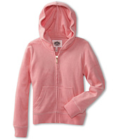Juicy Couture Kids - Micro Terry Basics L/S Hoodie (Toddler/Little Kids/Big Kids)