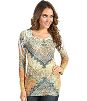 Roper - Paisley Burnout w/Lace Sublimation