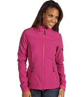 Roper - Raspberry Softshell Short Jacket w/Print